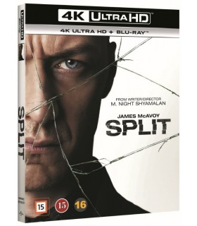 Split (2016) (4K UHD + Blu-ray)