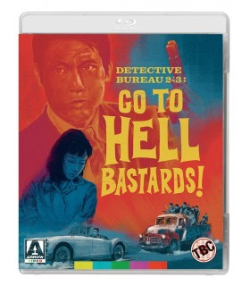 Detective Bureau 2-3 Go To Hell Bastards! (1963) (Blu-ray) 11.7.