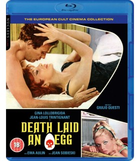 Death Laid an Egg (1968) Blu-ray 15.8.