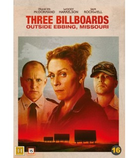Three Billboards Outside Ebbing, Missouri (2017) DVD 25.6.