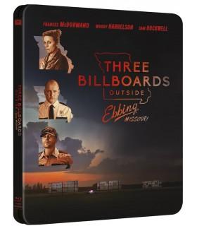 Three Billboards Outside Ebbing, Missouri (2017) Stelbook (Blu-ray) 24.6.