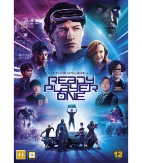 Ready Player One (2018) DVD 6.8.