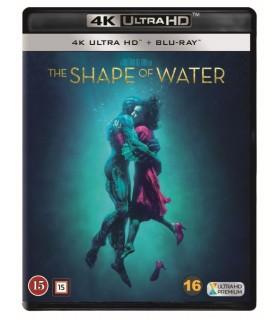 The Shape of Water (2017) (4K UHD + Blu-ray) - Heinäkuu