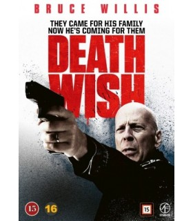 Death Wish (2018) DVD - Elokuu