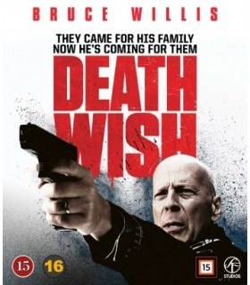 Death Wish (2018) Blu-ray - Elokuu