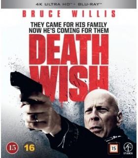 Death Wish (2018) (4K UHD + Blu-ray) - Elokuu