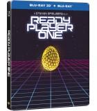 Ready Player One (2018) Steelbook (3D + 2D Blu-ray)