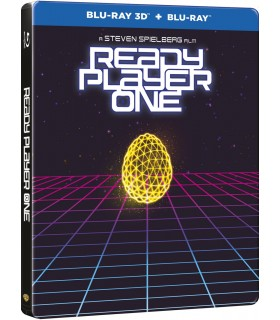 Ready Player One (2018) Steelbook (3D + 2D Blu-ray) 6.8.