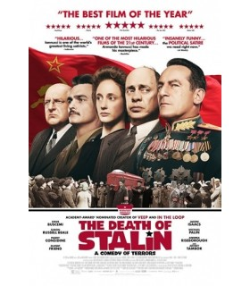 The Death of Stalin (2017) DVD 28.2.
