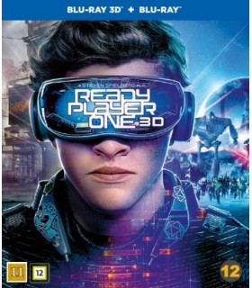 Ready Player One (2018) Steelbook (3D + 2D Blu-ray)