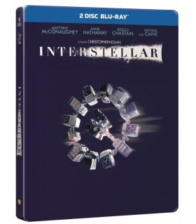 Interstellar (2014) Steelbook (2 Blu-ray)