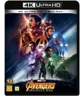 Avengers: Infinity War (2018) (4K UHD + 2 Blu-ray) 31.8.