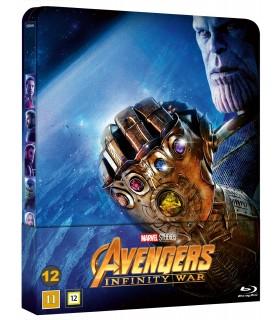 Avengers: Infinity War (2018) Steelbook (2 Blu-ray) 31.8.