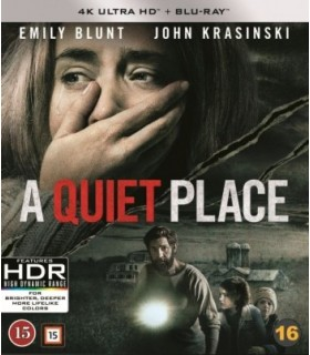 A Quiet Place (2018) (4K UHD + Blu-ray) 20.8.