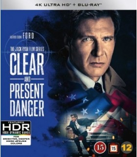 Clear and Present Danger (1994) (4K UHD + Blu-ray) 17.8.