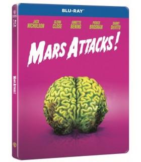 Mars Attacks! (1996) Steelbook (Blu-ray) 3.9.