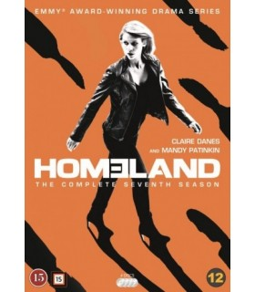 Homeland - Season 7. (3 Blu-ray) 24.9.