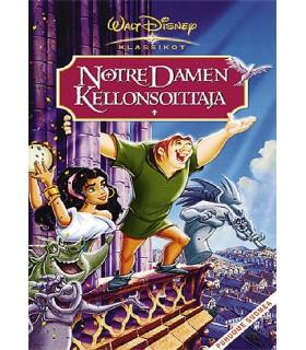 Notre Damen kellonsoittaja (1996) DVD