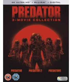 Predator - 1-3 Collection (1987 - 2010) (3 4K UHD + 3 Blu-ray)