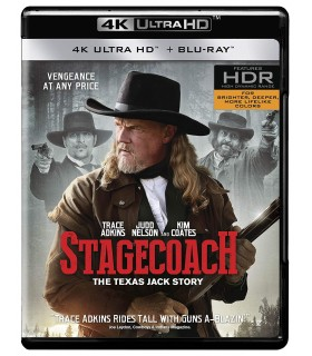 Stagecoach: The Texas Jack Story (2016) (4K UHD)
