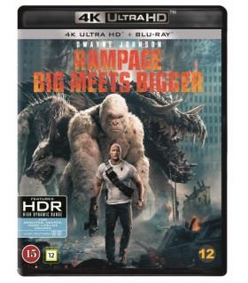 Rampage (2018) (4K UHD + Blu-ray) 20.8.