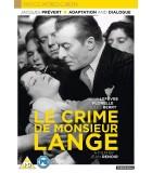 Le Crime De Monsieur Lange  (1936) DVD