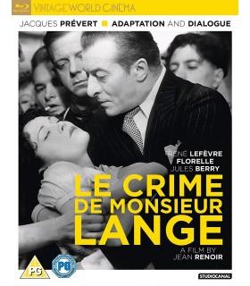 Le Crime De Monsieur Lange (1936) Blu-ray 29.8.