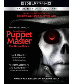 Puppet Master: The Littlest Reich (2018) (4K UHD) 25.9.