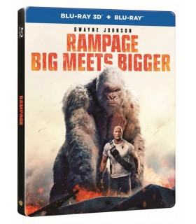 Rampage (2018) Steelbook (3D + 2D Blu-ray) 20.8.