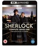 Sherlock: Series 1 (2010) (2 4K UHD + 2 Blu-ray)