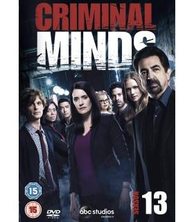 Criminal Minds - Kausi 13. (2005– ) (6 DVD)