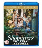 Shoplifters (2018) Blu-ray