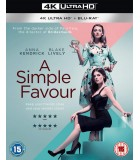 A Simple Favour (2018) (4K UHD + Blu-ray)