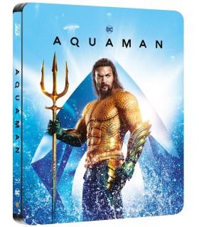 Aquaman (2018) Steelbook (3D + 2D Blu-ray)