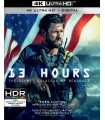 13 Hours: The Secret Soldiers of Benghazi (2016) (4K UHD + Blu-ray)