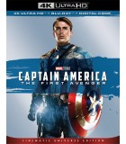 Captain America: The First Avenger (2011) (4K UHD + Blu-ray)