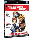 I Saw What You Did (1965) DVD