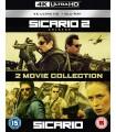 Sicario / Sicario 2: Soldado (2015 - 2018) (2 4K UHD + 2 Blu-ray)