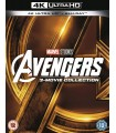 Avengers 1-3 Collection (2012 - 2018) (3 4K UHD + 3 Blu-ray)