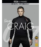 James Bond 007 - Daniel Craig Collection (4 4K UHD + Blu-ray)