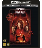 Star Wars: Episode III - Revenge of the Sith (2005) (4K UHD + 2 Blu-ray)