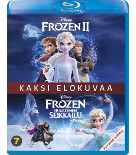 Frozen 1 & 2 (2013 / 2019) (2 Blu-ray)