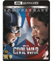 Captain America: Civil War (2016) (4K UHD + Blu-ray)