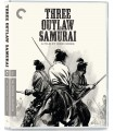 Three Outlaw Samurai (1964) Blu-ray 22.7.