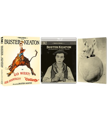 Buster Keaton - Collection (1923 - 1927) Limited Edition (2 Blu-ray)