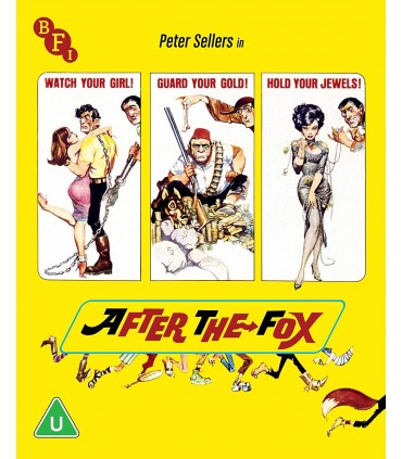 After The Fox (1966) Blu-ray