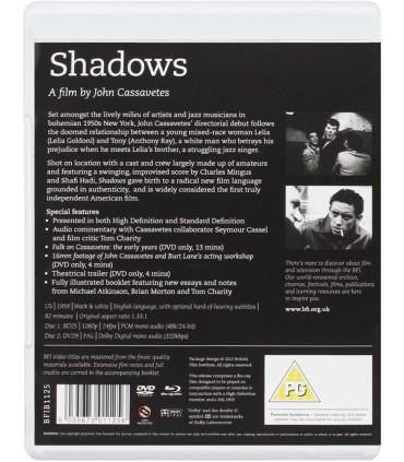 Shadows (1959) (Blu-ray + DVD)