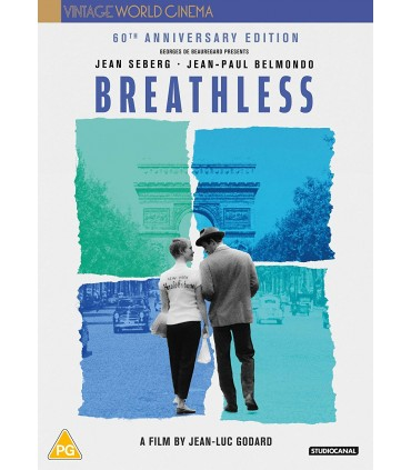 Breathless (1960) Blu-ray