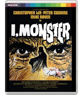 I, Monster (1971) Blu-ray 21.10.