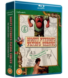 Monty Python's Flying Circus: The Complete Series 1-4 (1969–1974) (7 Blu-ray)